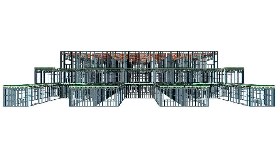Edificios para 80 apartamentos